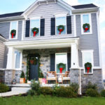 How to Hang Christmas Wreaths on Exterior Windows