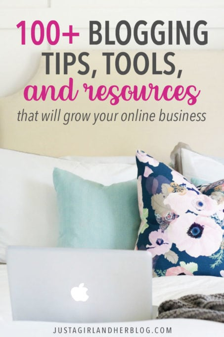 100+ Blogging Tips, Tools, and Resources that Will Grow Your Online Business
