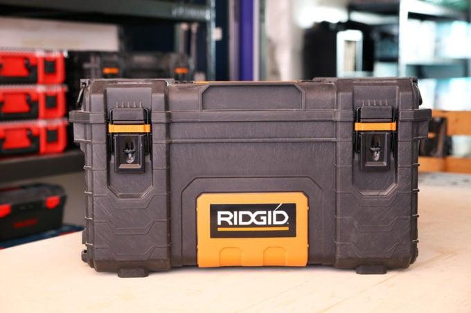 Ridgid Pro Tool Storage Box