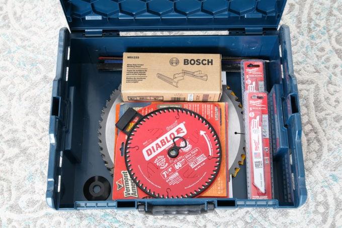 Bosch L-Boxx System Holding Saw Blades