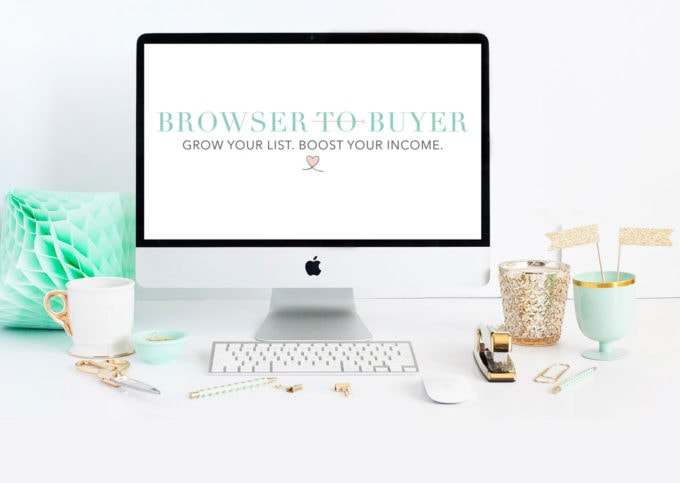 Browser to Buyer: A Three-Part System to Grow Your List and Boost Your Income | https://www.abbylawson.com/p/browser-to-buyer