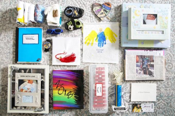 Sentimental Items and Mementos Kept After Using the KonMari Method