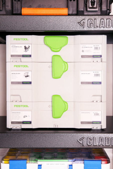 Festool Systainer System with Interlocking Cases