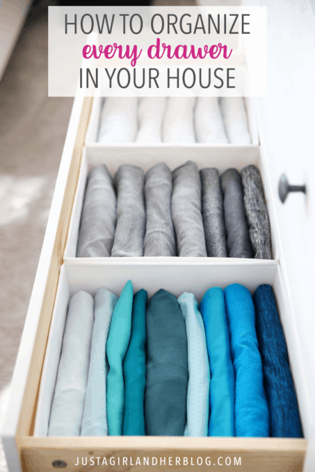 How to Organize Every Drawer in Your House