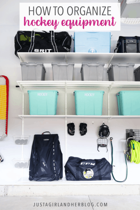 How to Organize Hockey Equipment
