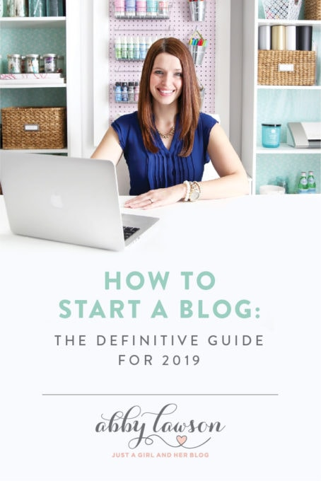 How to Start a Blog: The Definitive Guide for 2019