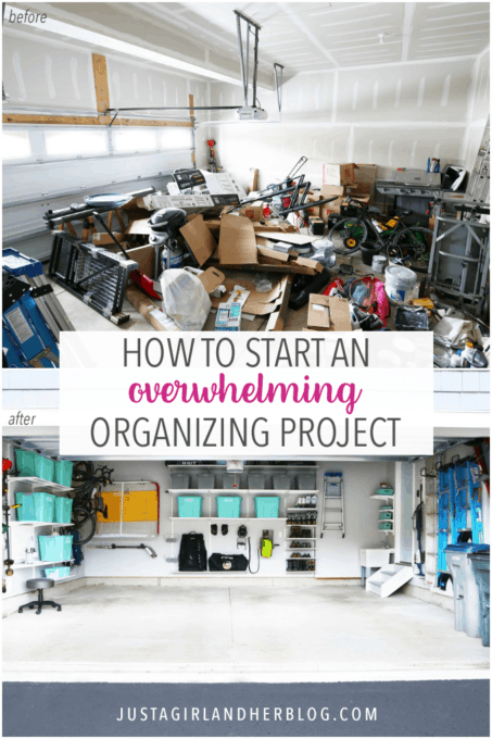How to Start an Overwhelming Organizing Project