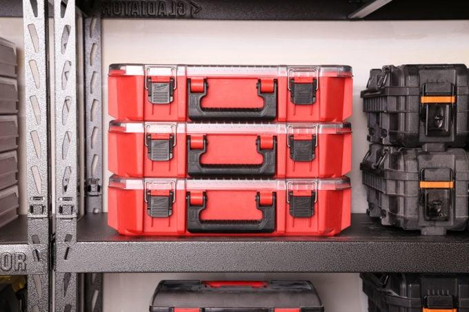 Milwaukee Small Parts Storage Organizers