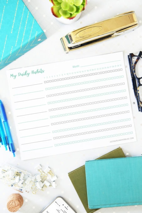 How to Track Daily Habits and Routines with a Free Printable