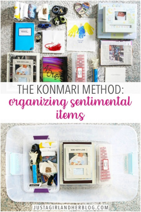 Decluttering Sentimental Items with Marie Kondo's KonMari Method