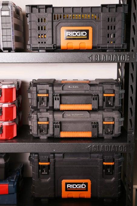 Ridgid Pro Tool Storage System