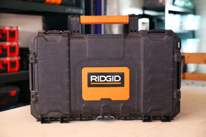 Small Ridgid Pro Tool Storage Case