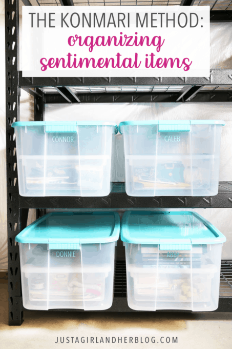 The KonMari Method: Organizing Sentimental Items
