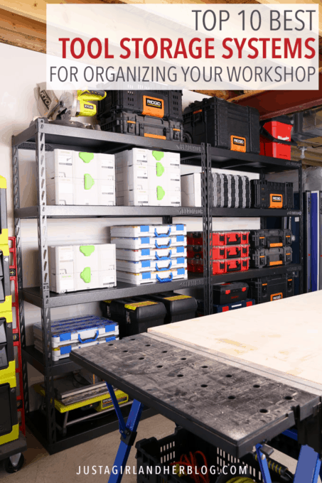 Top 10 Best Tool Storage Systems for Organizing Your Workshop