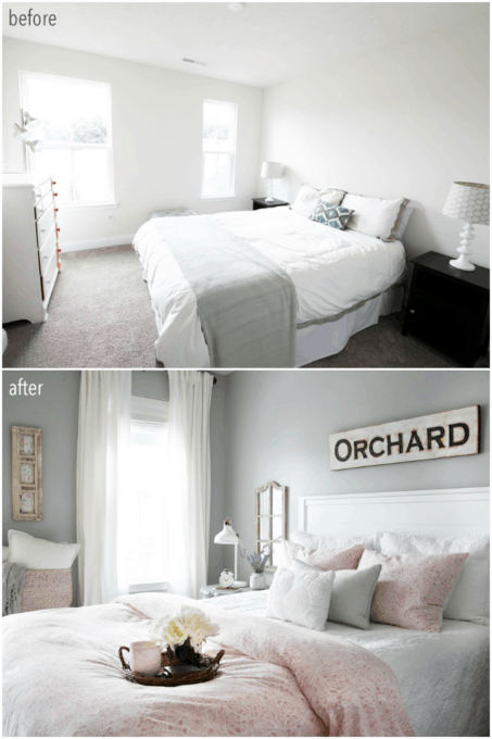 Guest Bedroom Before and After Transformation