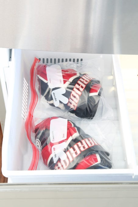 Put Hockey Gloves in the Freezer to Kill Bacteria and Eliminate Smell