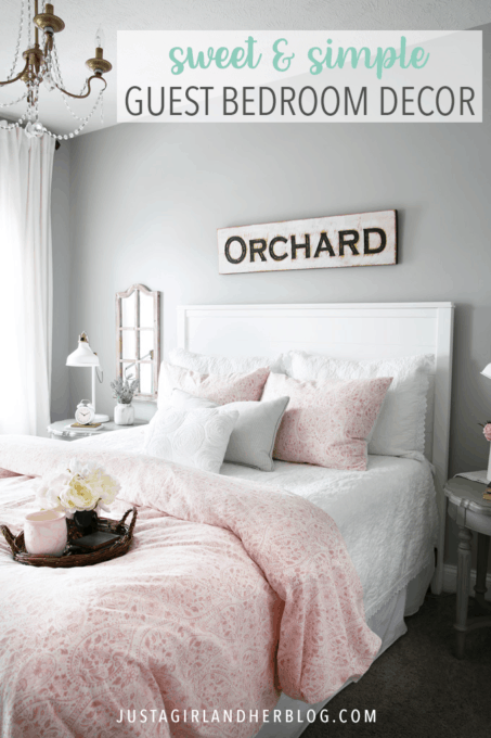 Sweet And Simple Guest Bedroom Decor Abby Lawson