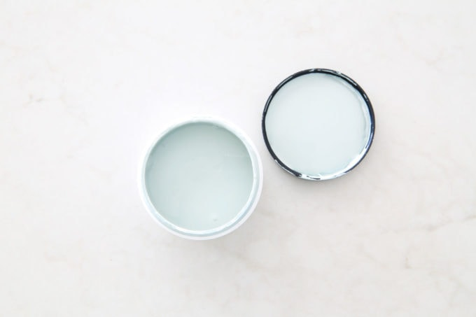 Aqua paint colors can be tough to sort through to find the perfect blend of blue and green for your space, so I'm sharing my 10 favorite aqua paint colors that will make any room feel soothing and serene! | #aqua #aquapaintcolors #aquapaint #mintpaint #mintpaintcolors #paintcolors #bestpaintcolors , Behr Frozen Pond