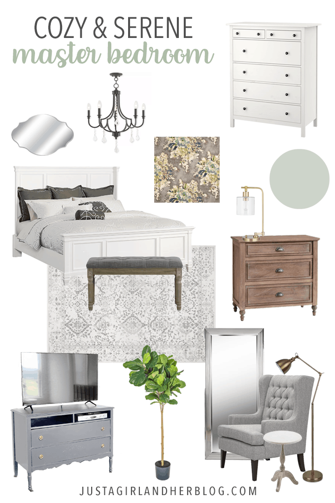Cozy and Serene Master Bedroom Plan | Abby Lawson