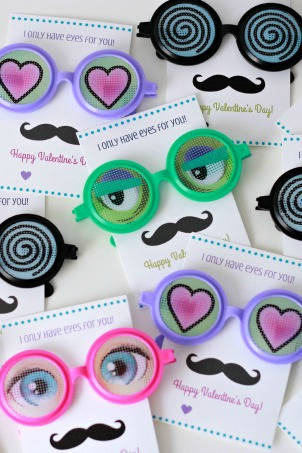 I Only Have Eyes for You Valentine Free Printables