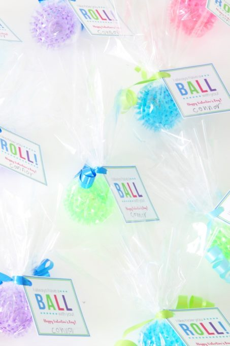 Have a Ball Valentines Free Printables