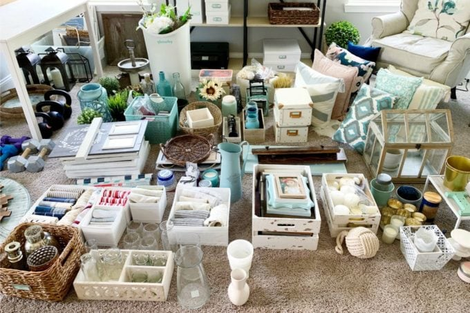 Organizing Home Decor Items with the KonMari Method