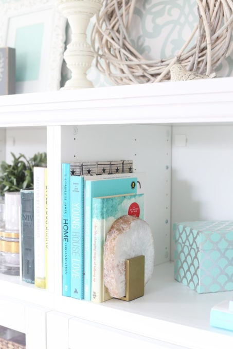 Organized Books with the KonMari Method