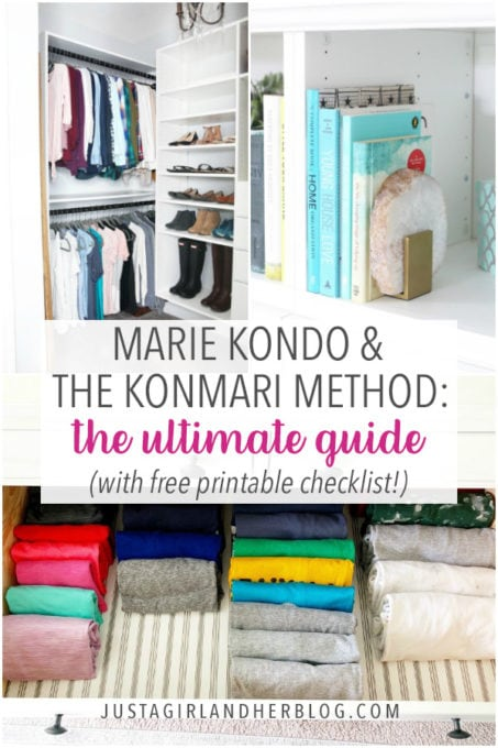 Free Printable KonMari Method Checklist