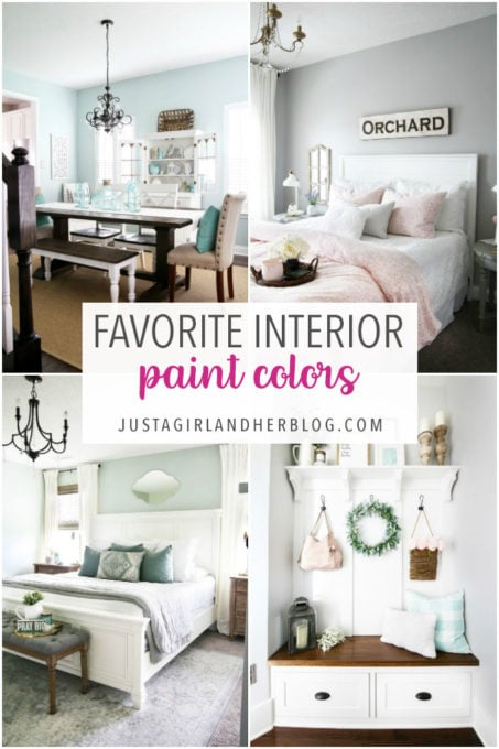 My Favorite Interior Paint Colors