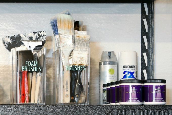 Paint Samples and Paint Brushes
