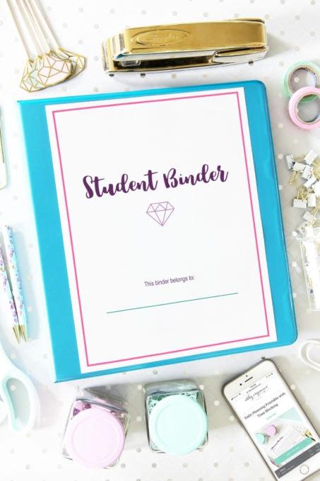 Deluxe Student Binder Printables