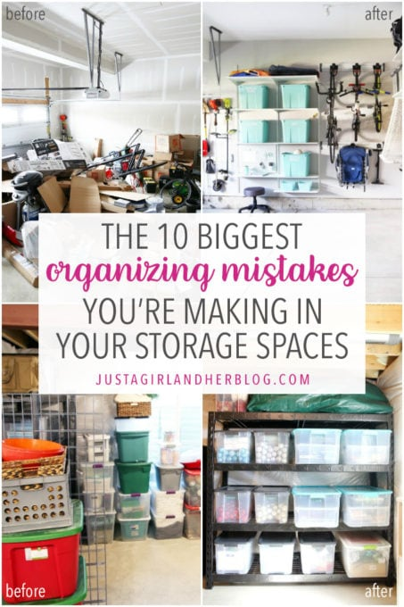 The 10 Biggest Organizing Mistakes You're Making in Your Storage Spaces