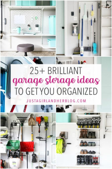 25 Brilliant Garage Storage Ideas to Get You Organized
