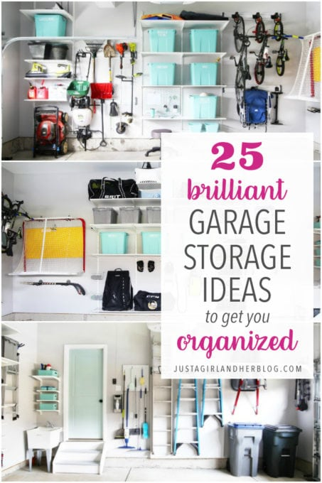 Brilliant Garage Storage Ideas to Get You Organized