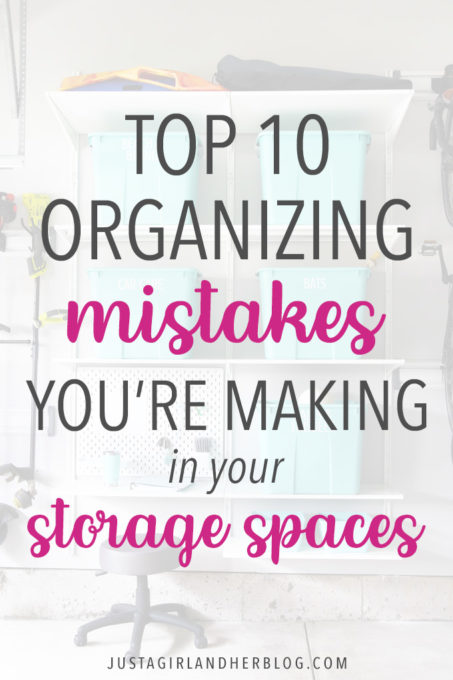 Top 10 Organizing Mistakes You're Making in Your Storage Spaces