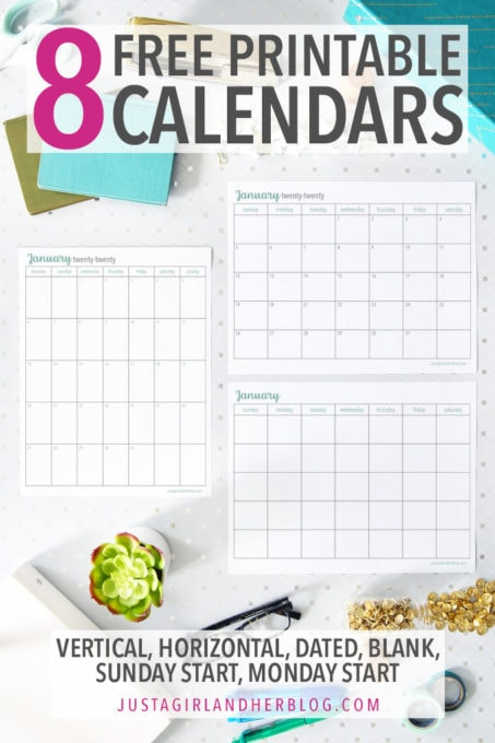 photo about Www.printablecalendars.com � Www.freeprintable.net identify Printable Calendar 8 Attractive Cost-free Calendars Abby Lawson