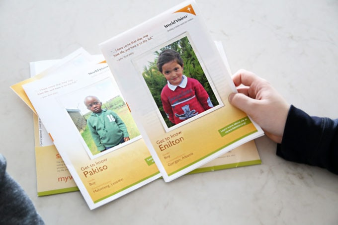 Sponsor a child with World Vision. https://www.worldvision.org/sponsor-a-child