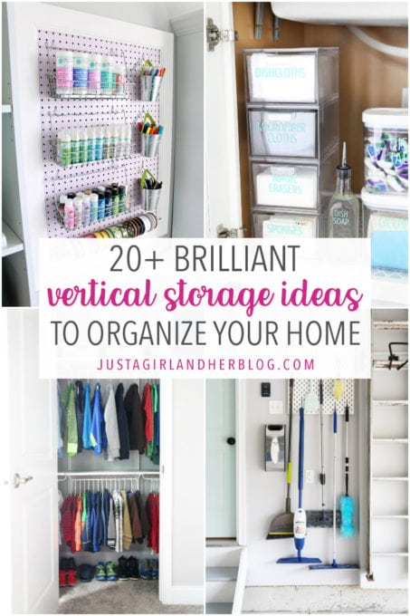 20 Brilliant Vertical Storage Ideas to Organize Your Home
