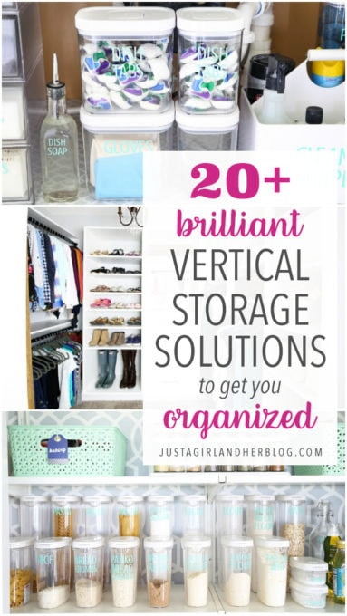 Brilliant Vertical Storage Solutions to Get You Organized