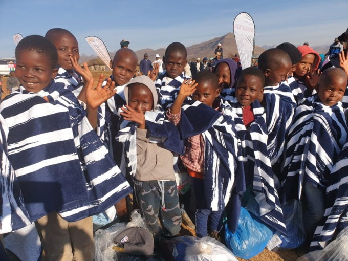 Children Sponsored by World Vision in Lesotho