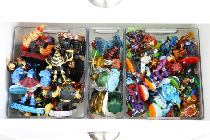 Organized Video Game Pieces, Smart Storage Solutions for the Living Room