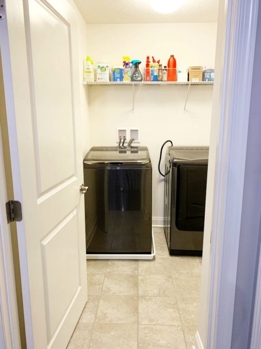 Bare Laundry Room Today