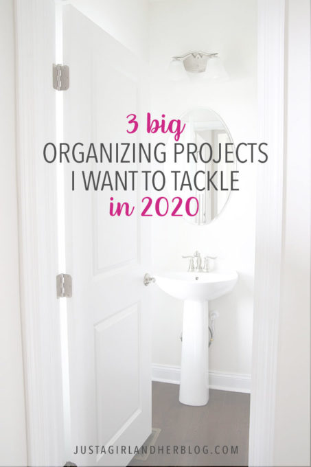 3 Big Organizing Projects I Want to Tackle in 2020