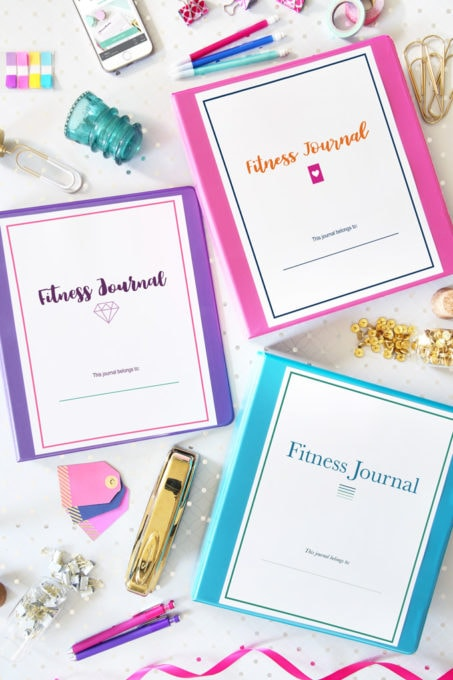 Deluxe Fitness Journal | https://www.abbylawson.com/deluxe-fitness-journal-printables