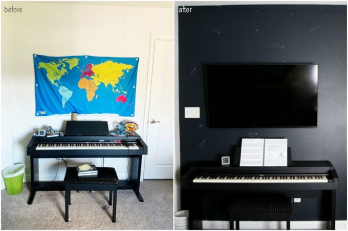 Piano Before and After