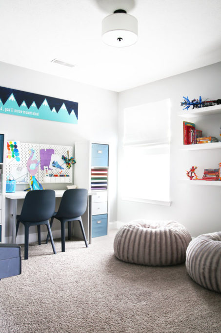 Organized Tween Hangout Room