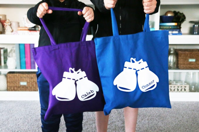Two Custom Tote Bags