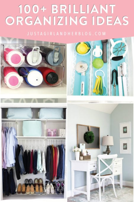 100 Brilliant Home Organization Ideas