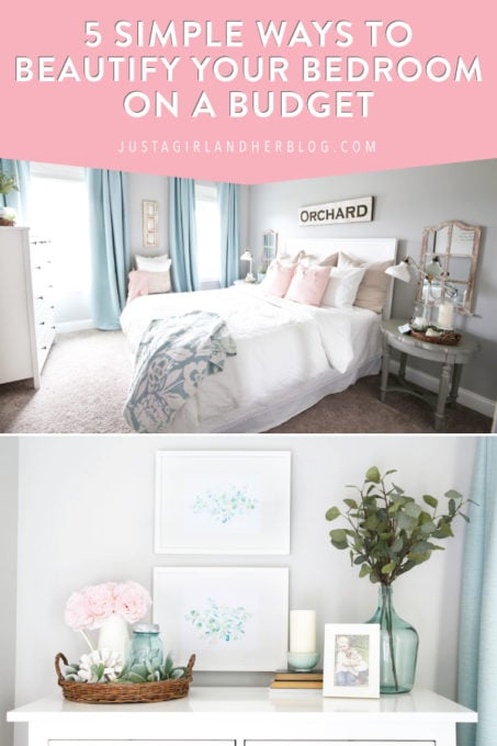 5 Simple Ways to Beautify Your Bedroom on a Budget