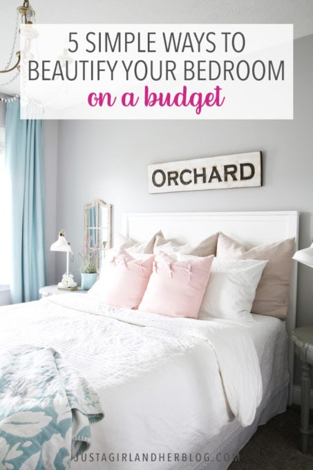Beautify Your Bedroom on a Budget